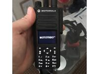 Motorola Dp-4800 Mototrbo DMR/Analogue UHF 403-527 MHz Portable Radio.