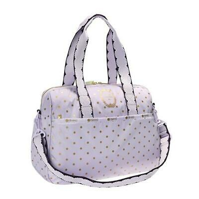 LeSportsac Laduree Collection Harper Bag in Pois Cassis Violette NWT