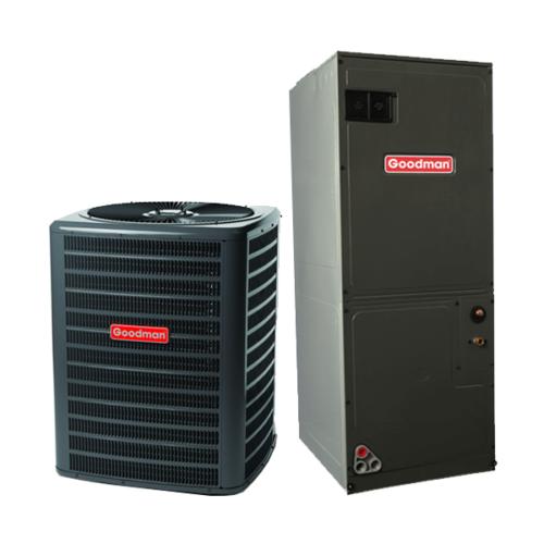 1.5 Ton 13 Seer Goodman Air Conditioning System GSX130181 -