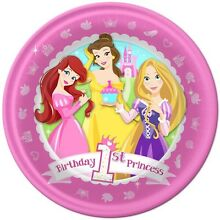 Disney princess 1st birthday party supplies Haberfield Ashfield Area Preview