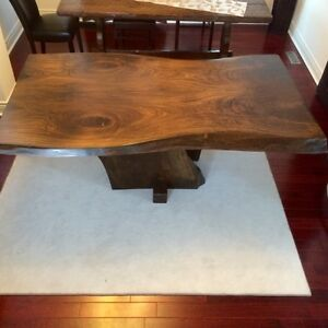 Rustic custom tables, benches, cabinets, barndoors Cambridge Kitchener Area image 6