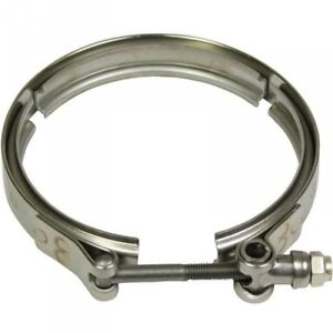"MBRP 4"" Holset HX40 Turbo Exhaust Downpipe V-Band Clamp"