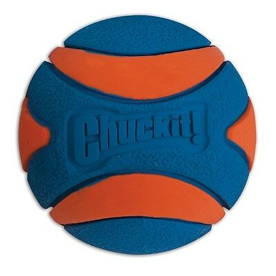 Chuckit! Ultra Squeaker Ball Durable Rubber Fetch Floating Dog Toy Fits Launcher Dog Rubber Fetch Toy