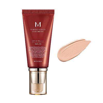 Missha M Perfect Cover BB Cream 50ml SPF 42 / PA +++ ( #13 Light Beige )