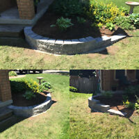 Summer Landscaping and hardscaping