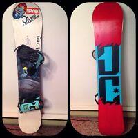 DC Media Blitz snowboard 154' - BOSS Salomon Bindings