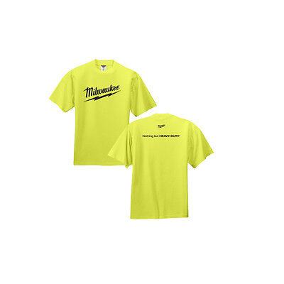 Lrg Green (Milwaukee MT306-XL Safety Green T-Shirt EXTRA LARGE - IN)