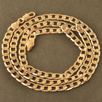 Men's Womens 18K CC Rose Gold Chain Necklace 31 Inch Stylish