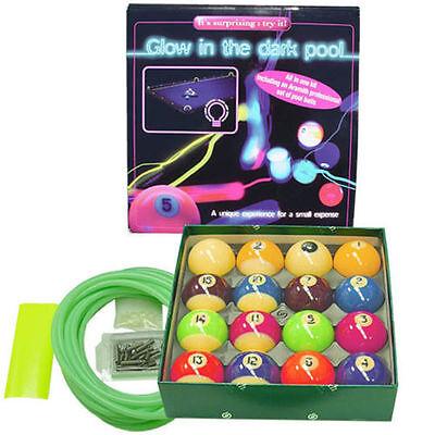 Glowing Pool Balls (Belgian Aramith Glow In The Dark Pool Balls Set w/ FREE)