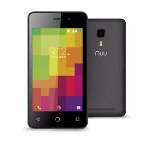 "NUU Mobile A1Plus Dual SIM Starter Smartphone 4.0"" Touchscreen Android™ 6.0 1GB/8GB Expandable to 32GB."