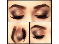 Female makeup artist