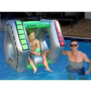 Inflatable Star Fighter With Water Gun Pool Toy 110x98x92cm Perth Seville Grove Armadale Area Preview