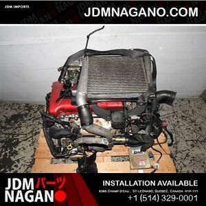 JDM Nissan Pulsar GTIR Engine N14 RNN14 GTIR Engine MOTOR TURBO