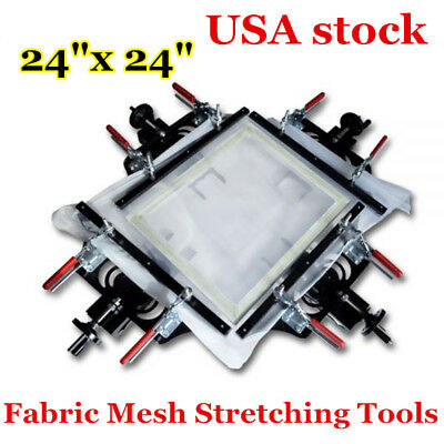 4 Pack Manual Mesh Stretcher Diy Stretching Tool Silk Screen Printing Stretcher