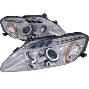 2000-2003 HONDA S2000 Chrome Housing Projector Headlights, Oe Hid Compatible