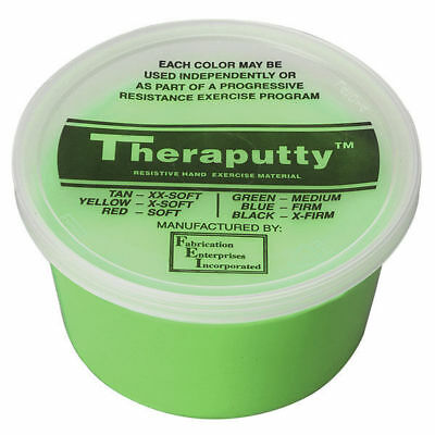 CanDo Theraputty Exercise Putty Green Medium 4 oz 100907 Each ()