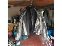 Frank Thomas XXL Aqua Pore Motorcycle Jacket