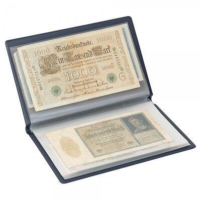 Taschenalbum für große Banknoten Geldscheine Belege bis 210x125mm LINDNER S818