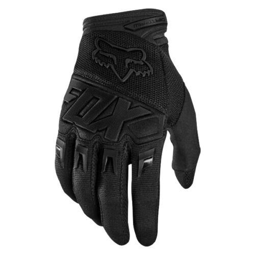 Fox Dirtpaw Black All Cycling Motorcycle Riding Racing Motoroad Bicycle Gloves