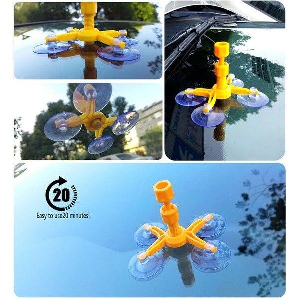 Car Window Glass Repair Tool Crack Chip Windscreen Windshield Repair Kit DIY