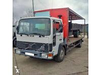Left hand drive Volvo FL613 Turbo 13 ton truck. Manual injector pump.