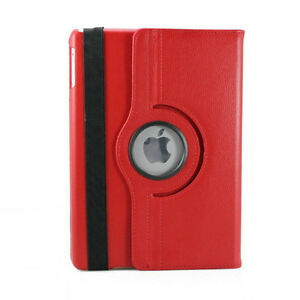 Red PU Leather 360 Rotating Case Cover for Ipad Mini 1 2 3 New Regina Regina Area image 6