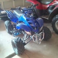 125cc 4-wheeler plus second parts 4-wheeler