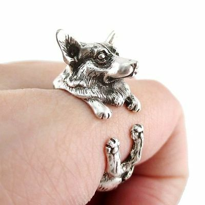 Cute Adjustable Animal Ring Jewelry (Dog, Giraffe, Elephant, Rabbit, Cat) US - Dog Giraffe