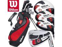 Wilson Profile VF Men's LEFT Handed Complete Golf Set
