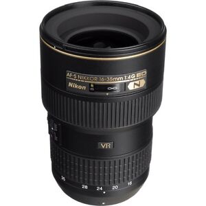 ÉCHANGE Nikon AF-S VR 16-35 f4G