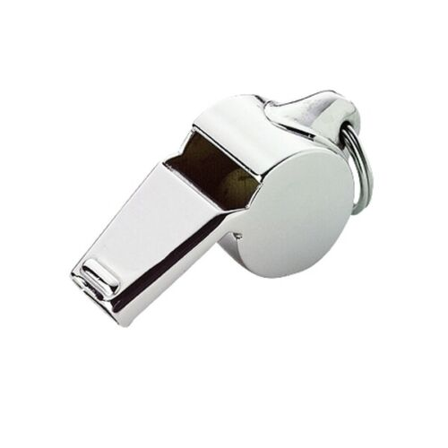 WHISTLE Polished SILVER uniform/police/sheriff/constable