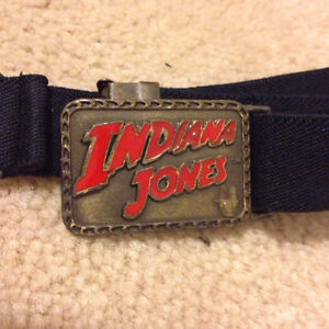 Vintage children's Indiana Jones belt Cambridge Kitchener Area image 1
