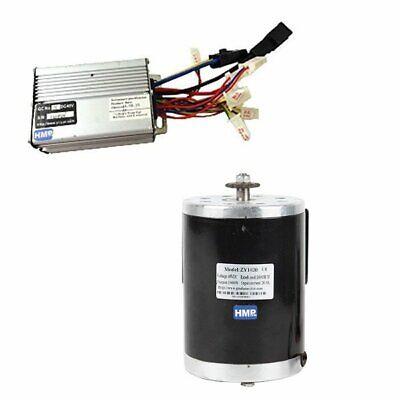 HMParts RC Eléctrico Motor 48V 1000W 3000RPM MY1020 + Controlador