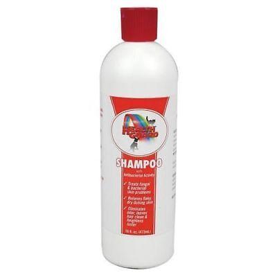 Healthguard Pet Shampoo Dog Cat Horse antibacterial fungal ringworm Itching 16oz