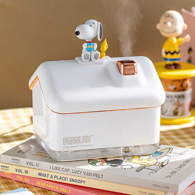 Peanuts Snoopy Mood Lamp Humidifier + Filter Woodstock Home Moist Design USB