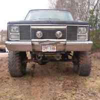 1987 Chev for sale or trade