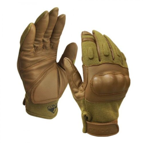 Condor HK221 Dupoint Combat Tactical Nomex Leather Gloves Hard Knuckle