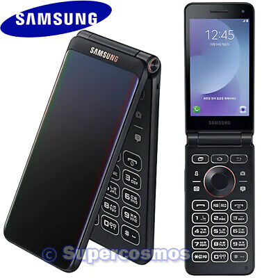 "✅ SAMSUNG GALAXY FOLDER 2 SM-G160N 3.8"" QUAD-CORE 32GB UNLOCKED PHONE (BLACK) ☑️"