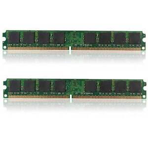 2GB PC2 6400U DDR2 800MHZ 240 PIN 2x1GB DESKTOP SORAM MEMORY RAM FOR INTEL/ AMD