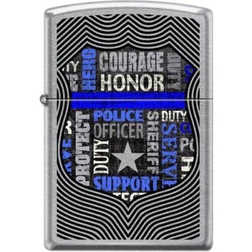 Zippo Lighter - Badge Street Chrome - 854419