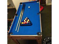 Football/pool table