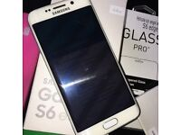 Samsung Galaxy S6 Edge 64gb, White & Factory Unlocked