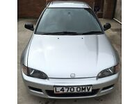 Honda Civic e.g 1.6 Vtec Esi low miles