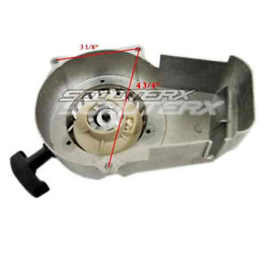 Metal-Pull-Start-Recoil-Rope-Part-mini-petrol-gasoline-pit-dirt-bike-47cc-49cc