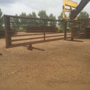 Panels, troughs, calf shelters