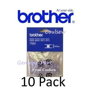 genuine brother sewing machine bobbins x10 xa3812 151