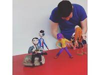 Stop Motion Animation Workshop - Oct 22-23rd at Tileyard Studios, London.