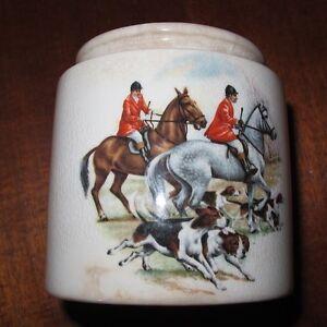 Sandland Ware Oxford Marmalade Jar - Hunting scenes Armidale Armidale City Preview