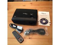 Optoma Pro10s Home cinema projector- barely used.