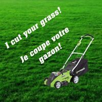 Grass Cutting in West Island - Coupe de Gazon L'Ouest de L'Ile
